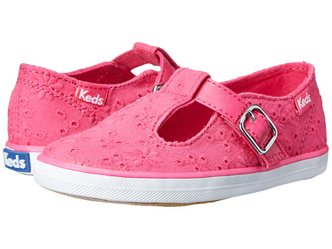 Keds Kids - T-Strappy (Toddler/Little Kid) (Pink) Girl