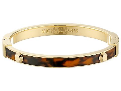 Michael Kors - Resort Astor Bangle Bracelet (Tortoise/Gold) Bracelet