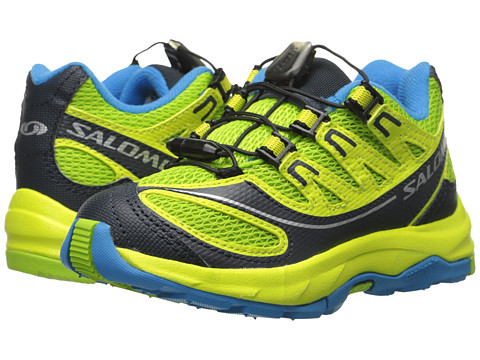 Salomon Kids - XA Pro 2 (Toddler/Little Kid/Big Kid) (Granny Green/Deep Blue/Methyl Blue) Boys Shoes