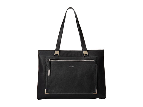 Nine West - Scale up Tote (Black) Tote Handbags