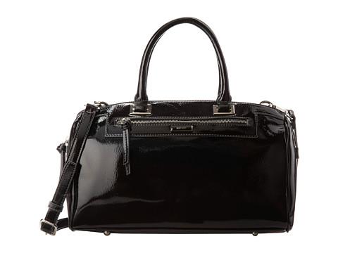 Nine West Kathleen Satchel (Black) Satchel Handbags