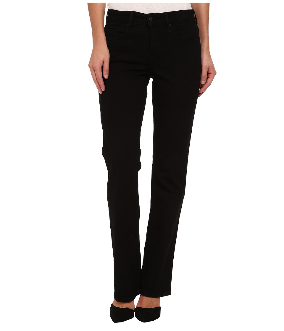 NYDJ Billie Mini Boot in Black (Black) Women's Jeans