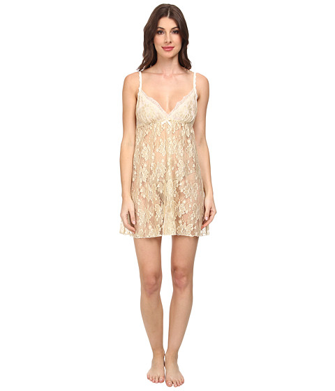 Hanky Panky - Gilded Lace Chemise (Champagne/Gold) Women