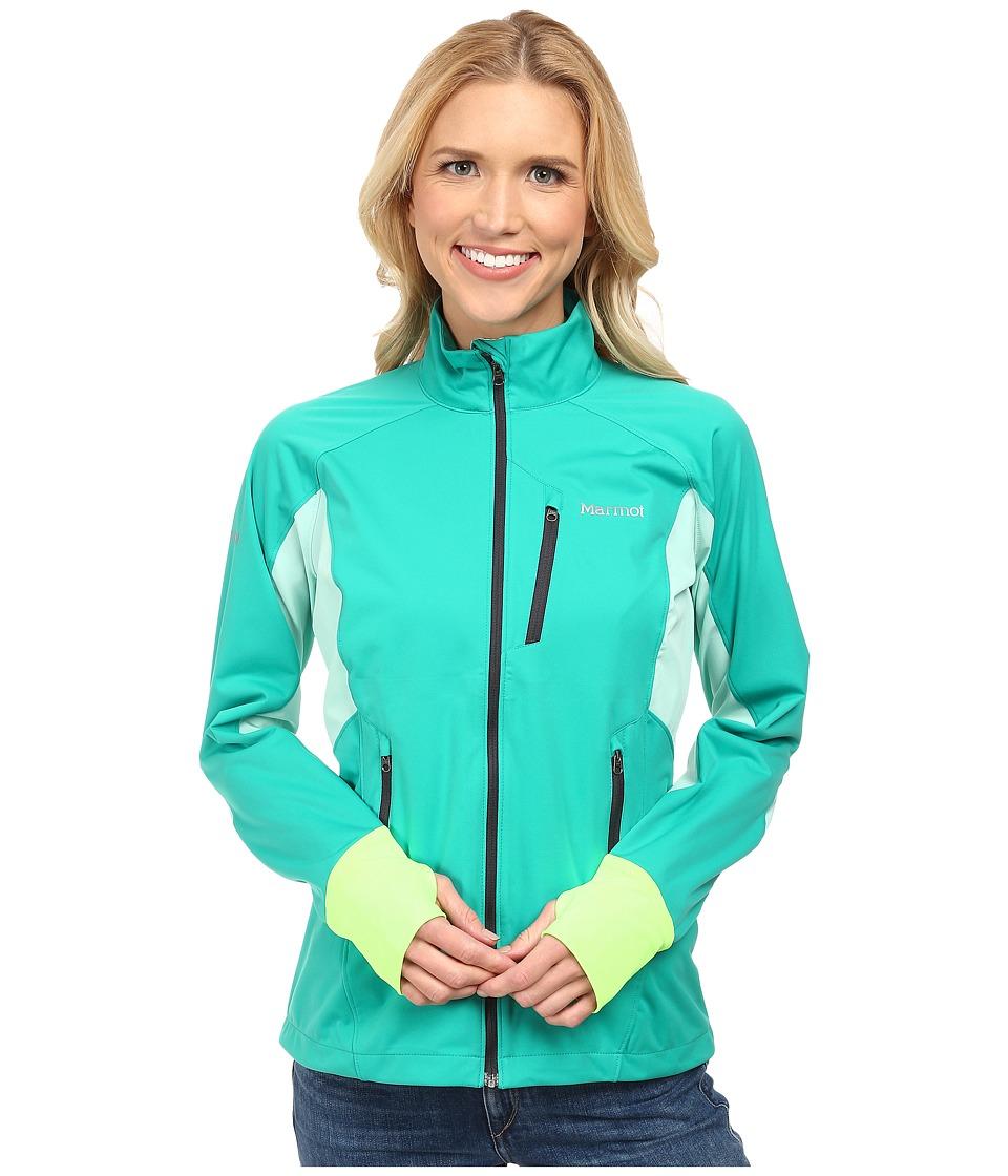 Marmot - Fusion Jacket (Gem Green/Ice Green) Women's Coat