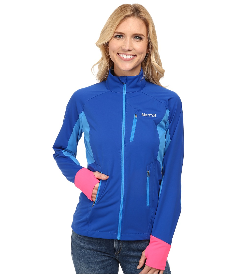 Marmot - Fusion Jacket (Bright Navy/Ceylon Blue) Women's Coat