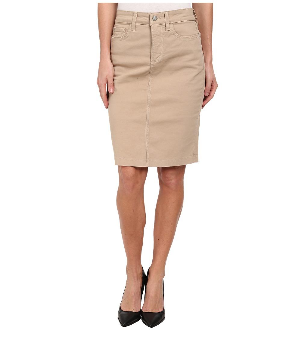 NYDJ - Dora Skirt Washed Twill (Almond) Women