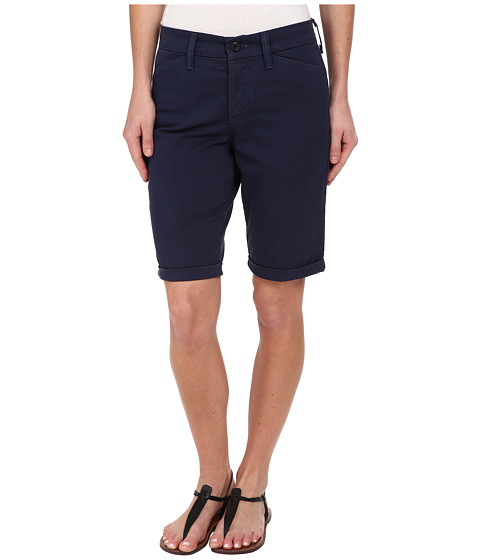 NYDJ - Briella Roll Cuff Short (Heritage Navy) Women