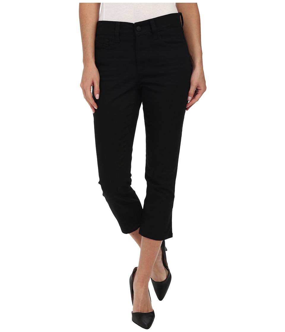 NYDJ - Svetalna Skinny Crop in Black (Black) Women's Jeans