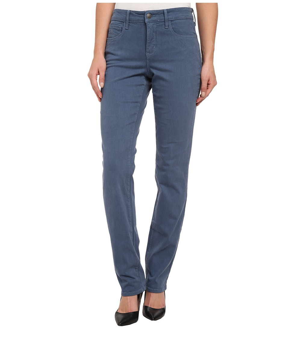 NYDJ - Samantha Slim Sateen (Mystic Blue) Women's Casual Pants