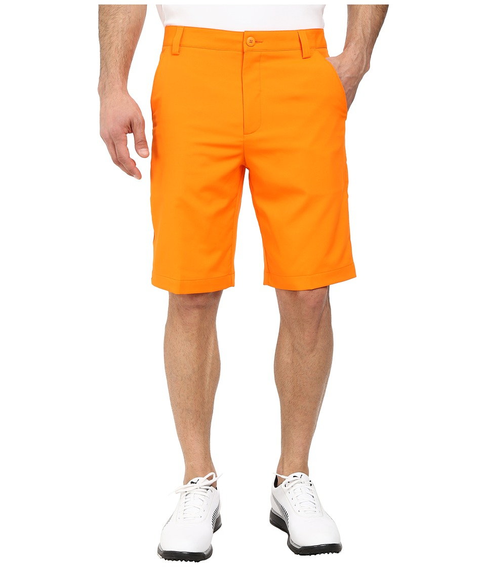 PUMA Golf - Golf Solid Tech Short '16 (Orange) Men's Shorts
