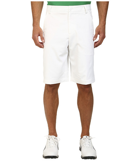 PUMA Golf - Golf Solid Tech Short '15 (PUMA White) Men's Shorts