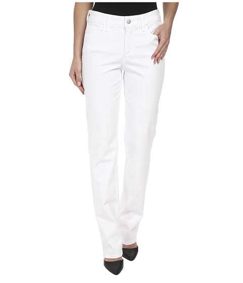 NYDJ - Hayley Straight (Optic White) Women's Jeans