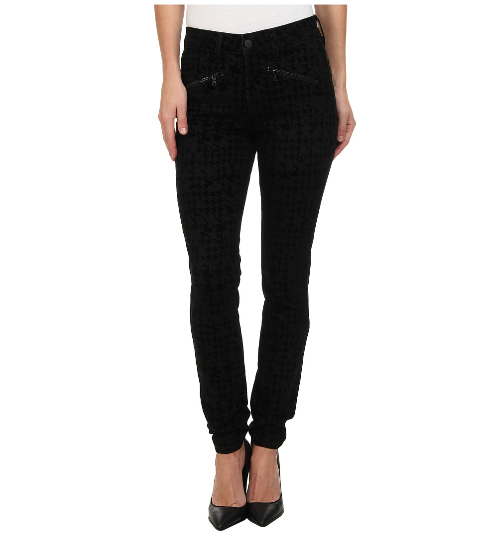 NYDJ - Ami Super Skinny in Houndstooth Flocking/Black (Houndstooth Flocking/Black) Women's Jeans
