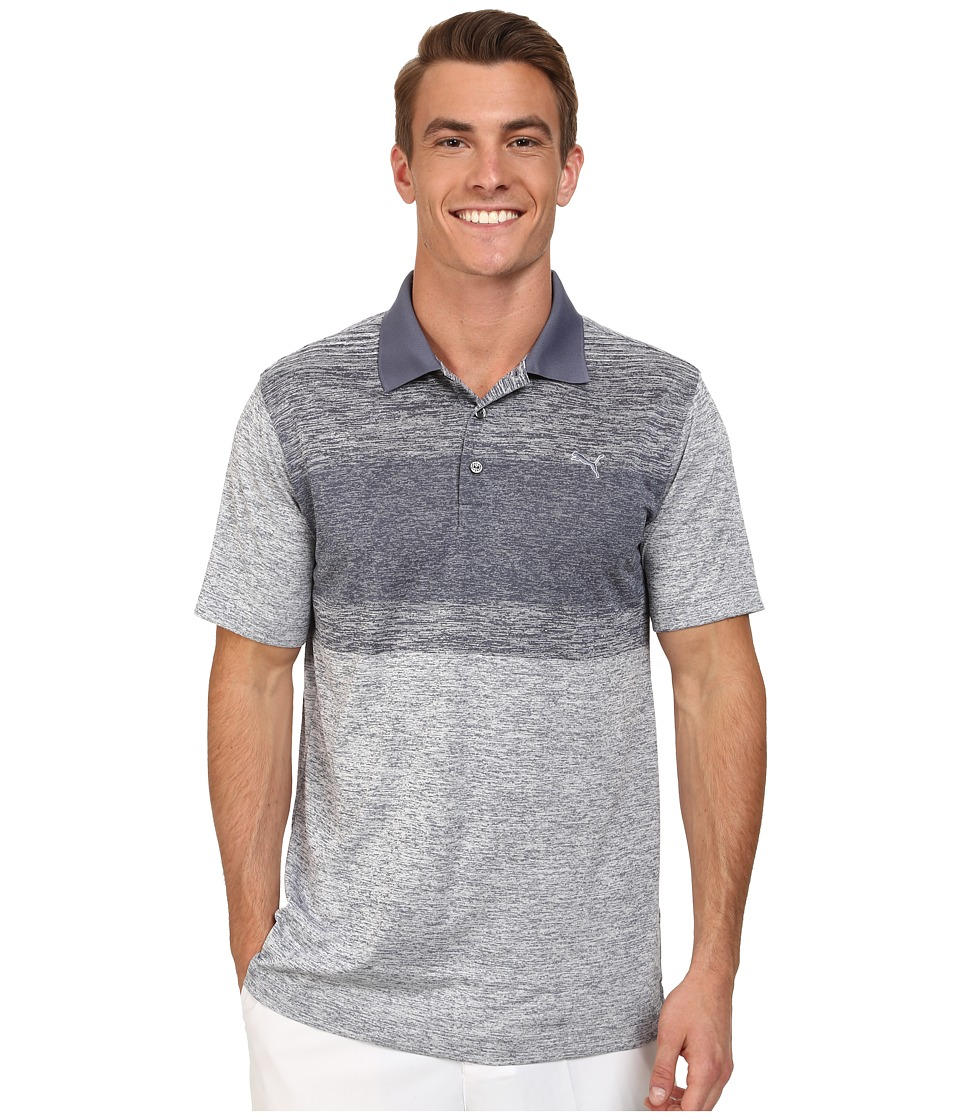 PUMA Golf - Novelty Stripe Polo (Strong Blue) Men