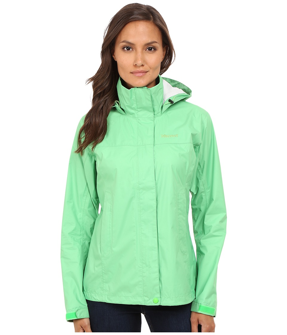 Marmot PreCip Jacket (Pop Green) Women