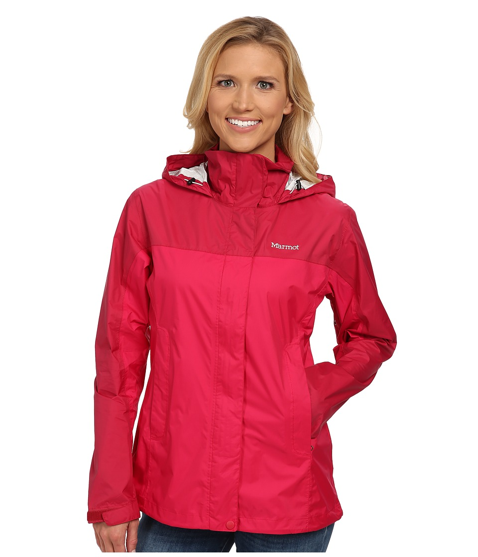 Marmot - PreCip Jacket (Raspberry/Dark Raspberry) Women's Jacket