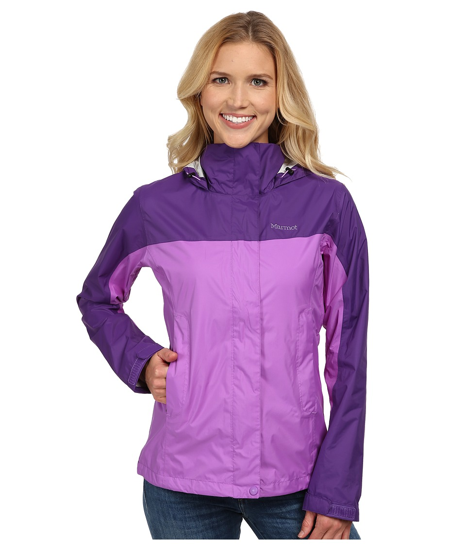 Marmot - PreCip Jacket (Purple Shadow/Lavender Violet) Women's Jacket