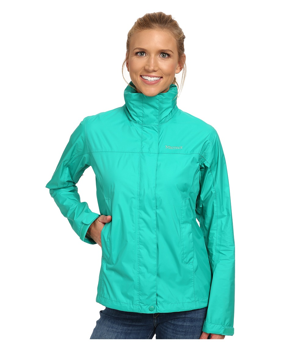 Marmot - PreCip Jacket (Gem Green) Women's Jacket