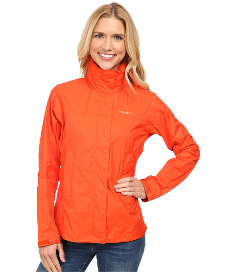 Marmot - PreCip Jacket (Coral Sunset) Women