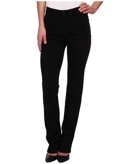 NYDJ - Marilyn Straight Sequin Tuxedo in Black Tuxedo (Black Tuxedo) Women's Jeans