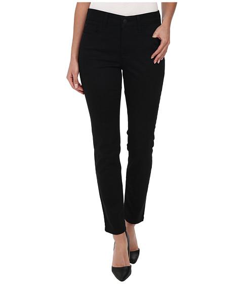 NYDJ - Clarissa Skinny Ankle Fine Line Twill in Black (Black) Women's Jeans