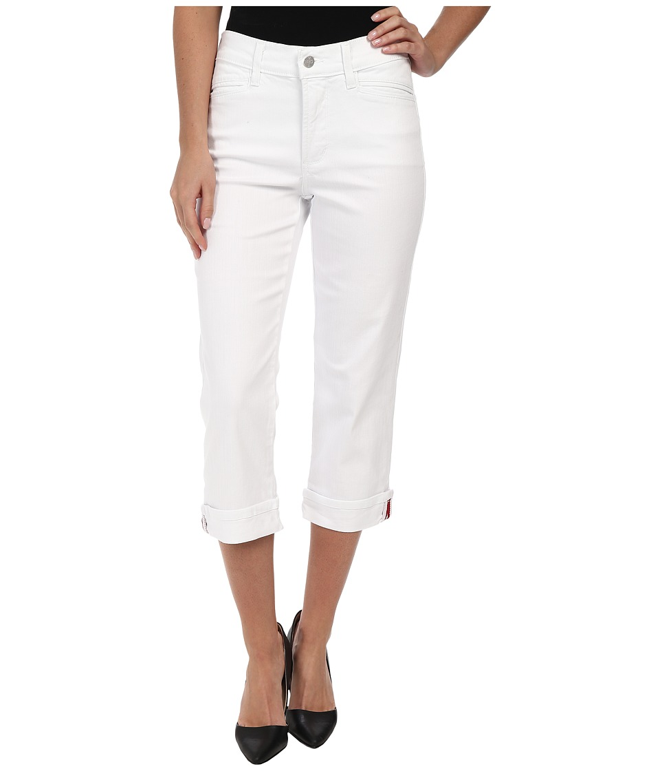 NYDJ - Ariel Crop (Optic White) Women's Jeans