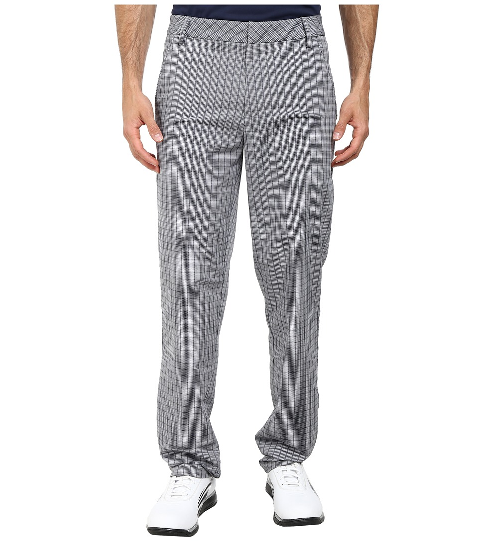 PUMA Golf - Plaid Tech Pant (Folkstone Gray) Men's Casual Pants