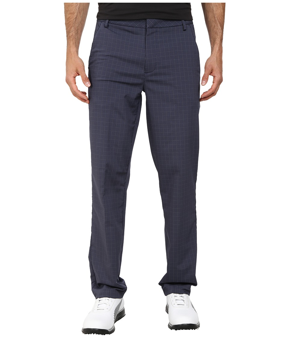 PUMA Golf - Plaid Tech Pant (Peacoat) Men's Casual Pants