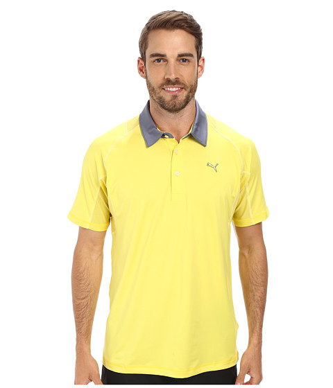 PUMA Golf - Titan Tour Polo (Aurora) Men's Short Sleeve Knit