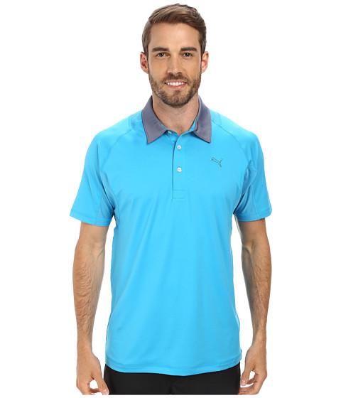 PUMA Golf - Titan Tour Polo (Hawaiin Ocean) Men's Short Sleeve Knit