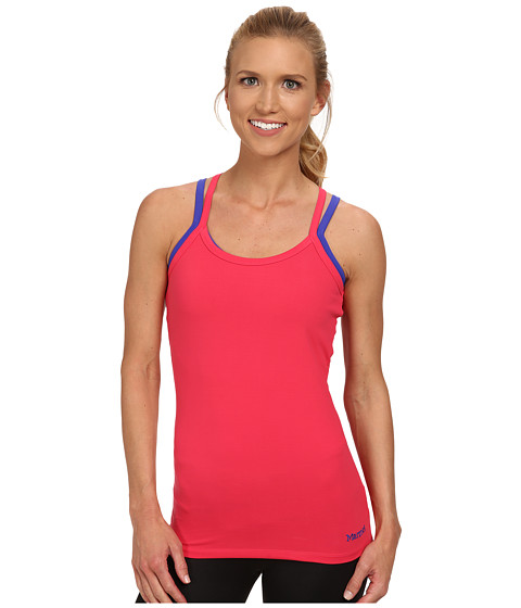Marmot - Erin Tank Top (Summer Pink/Gemstone) Women's Sleeveless
