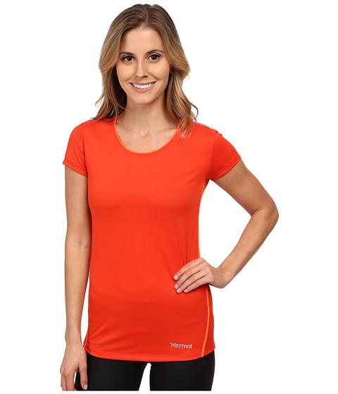 Marmot - Essential S/S (Coral Sunset/Bright Orange) Women's T Shirt