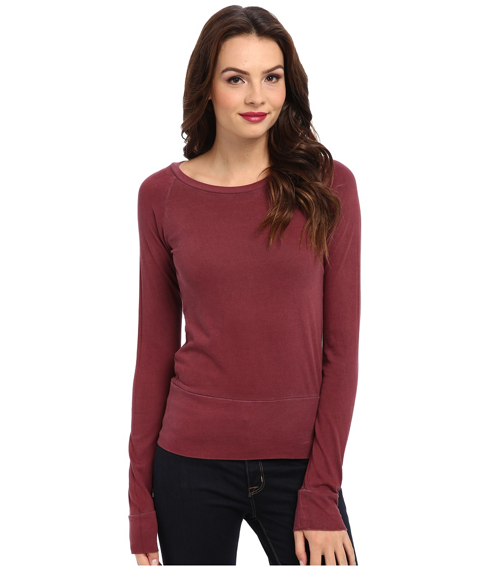 Alternative - Basic Raglan Top (Redwood) Women's T Shirt