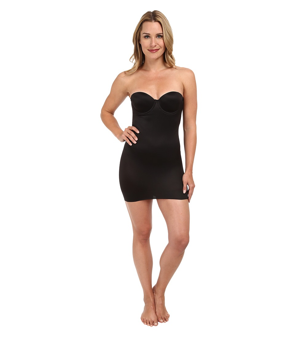 TC Fine Intimates - Strapless Slip 4032 (Black) Women's Underwear