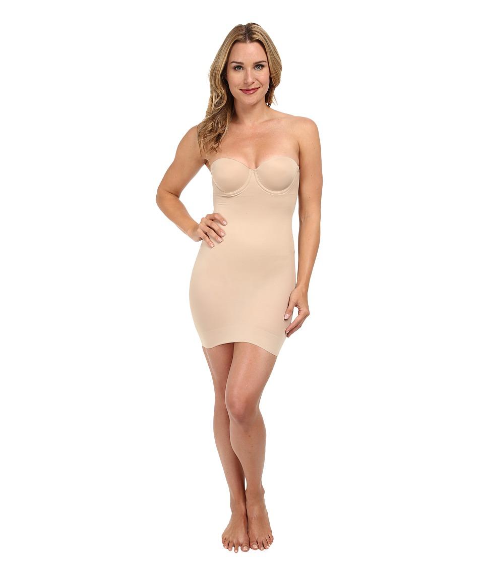 TC Fine Intimates - Strapless Slip 4032 (Nude) Women's Underwear