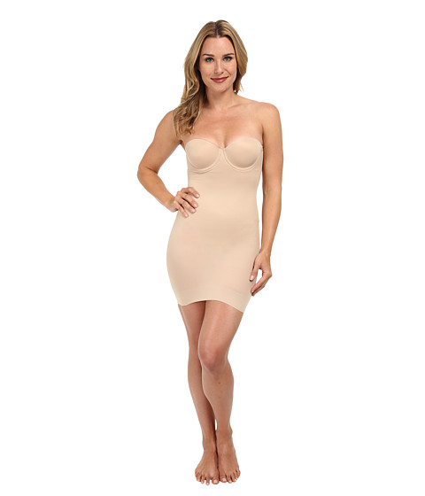 25e3a32cf5 ... UPC 080225487800 product image for TC Fine Intimates Strapless Slip 4032  (Nude) Women s Underwear