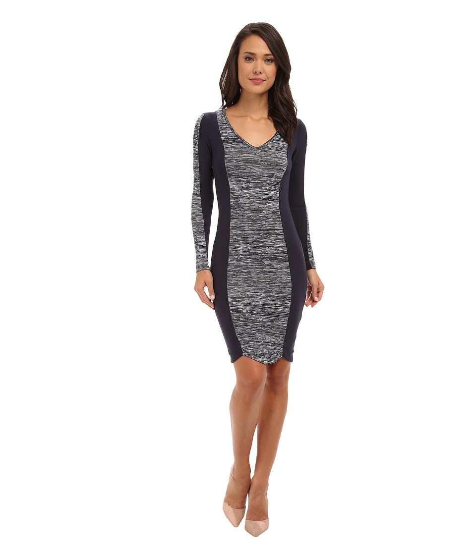 French Connection - City Block Space 71CKZ (Utility Blue) Women's Dress
