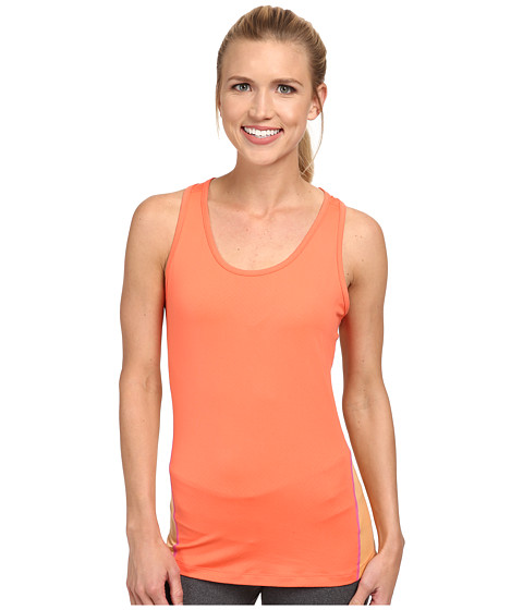Columbia - Freeze Degree II Tank Top (Coral Flame/Peach/Foxglove Stitch) Women's Sleeveless