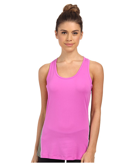 Columbia - Freeze Degree II Tank Top (Foxglove/Cypress/White Stitch) Women's Sleeveless