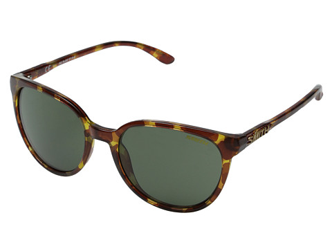 Smith Optics - Cheetah (Yellow Tortoise/Gray Green Carbonic TLT Lenses) Plastic Frame Fashion Sunglasses