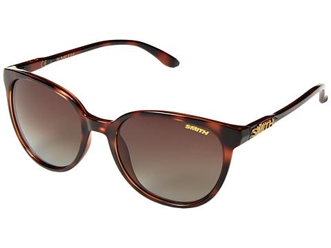 Smith Optics Cheetah (Tortoise/Polar Brown Gradient Carbonic TLT Lenses) Plastic Frame Fashion Sunglasses