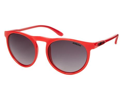 Smith Optics Marvine (Poppy/Gray Gradient Carbonic Lenses) Plastic Frame Fashion Sunglasses
