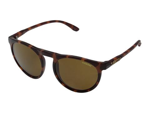 Smith Optics Marvine (Matte Tortoise/Polar Brown Carbonic TLT Lenses) Plastic Frame Fashion Sunglasses