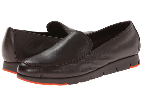Aerosoles - Fastest (Dark Brown Leather) Women's Slip-on Dress Shoes
