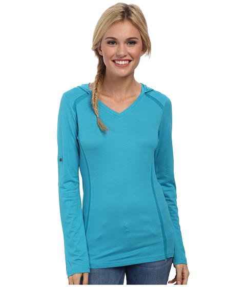 Kuhl - Futura Hoodie (Aqua) Women's Long Sleeve Pullover