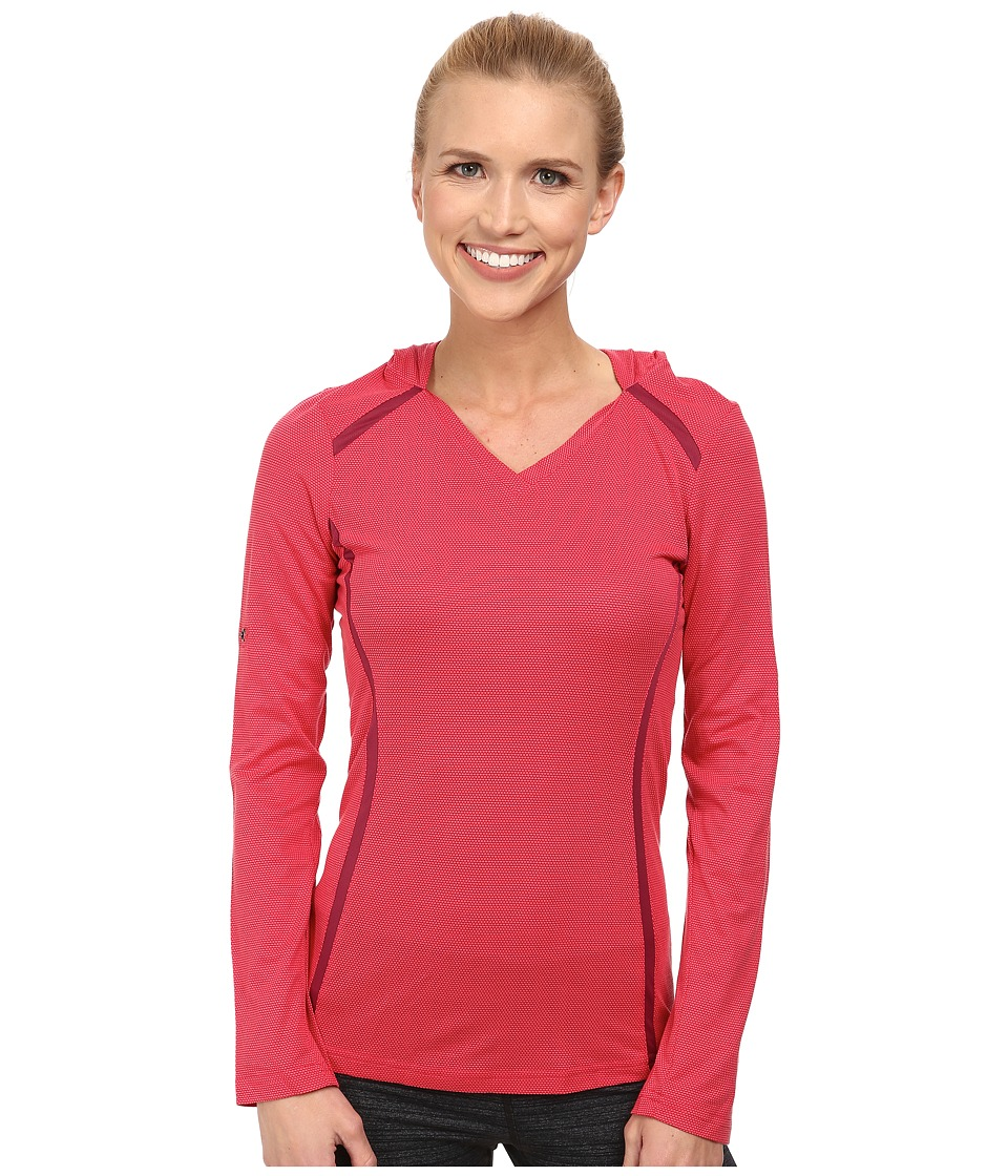 Kuhl - Futura Hoodie (Watermelon) Women's Long Sleeve Pullover