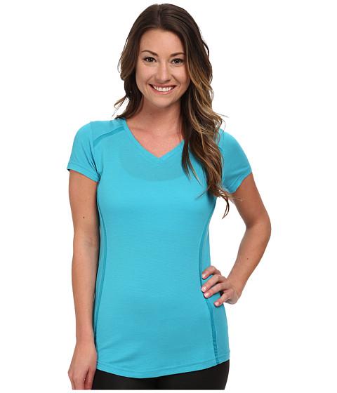 Kuhl - Futura S/S Top (Aqua) Women's Short Sleeve Pullover