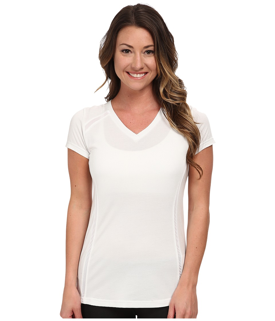 KUHL - Futura S/S Top (White) Women's Short Sleeve Pullover