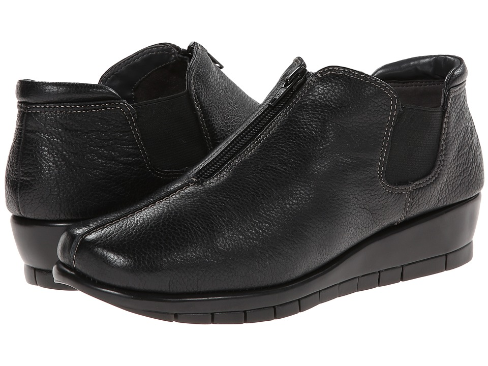 Aerosoles - Landfall (Black Leather) Women's Shoes