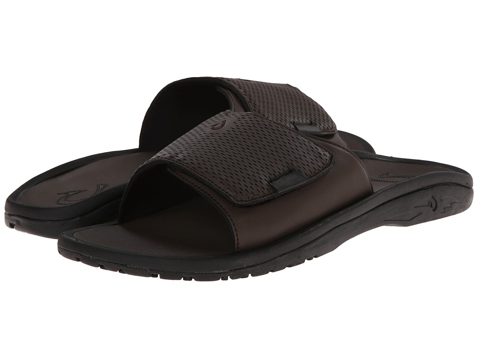 OluKai - Kekoa Slide (Dark Java/Dark Java) Men's Sandals